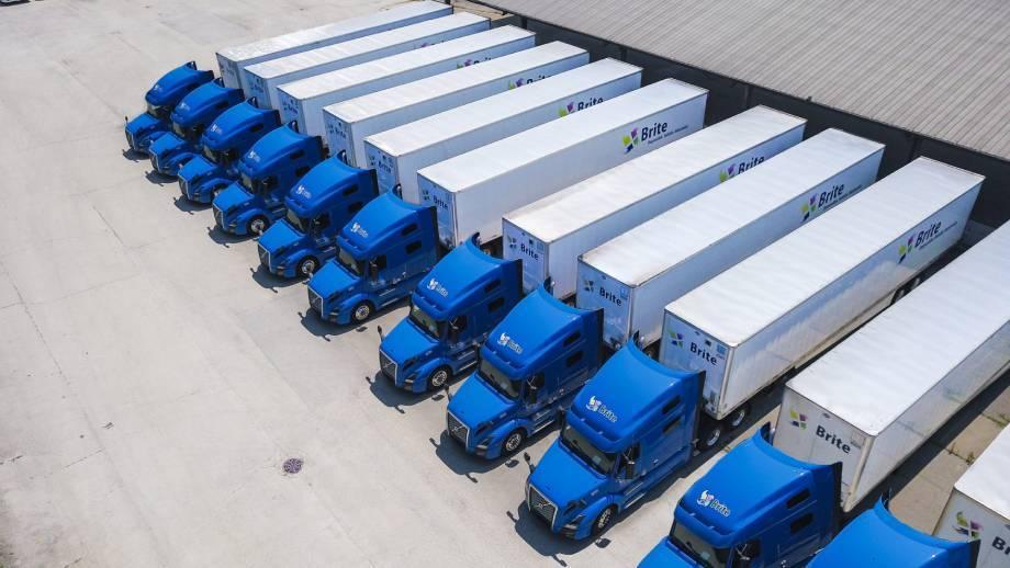 otr truck driver job Brite Logistics Chicago Illinois
