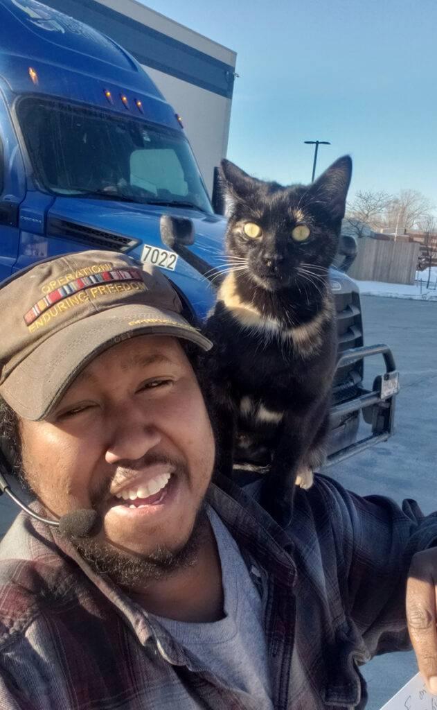 Trucker cat
