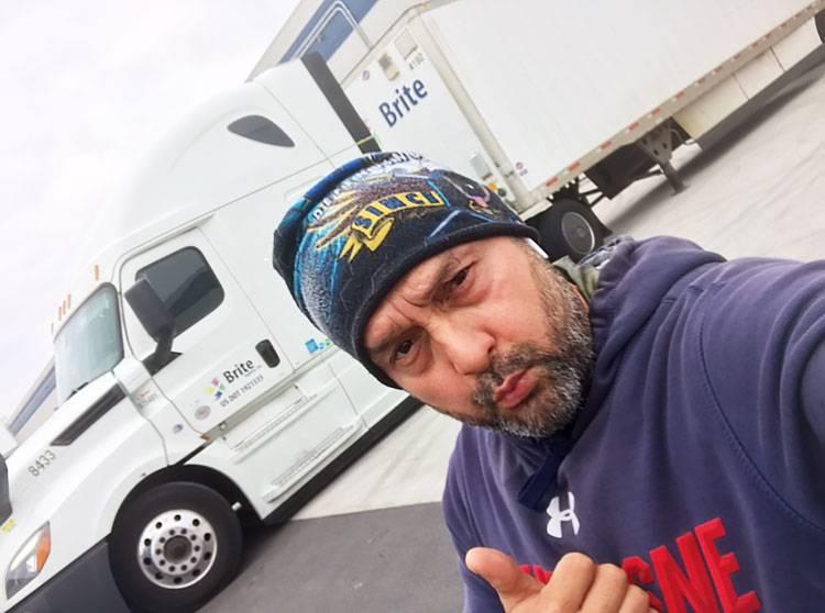 Tony Nunez - OTR truck driver at Brite Logistics