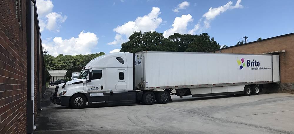 dry van type of trailer